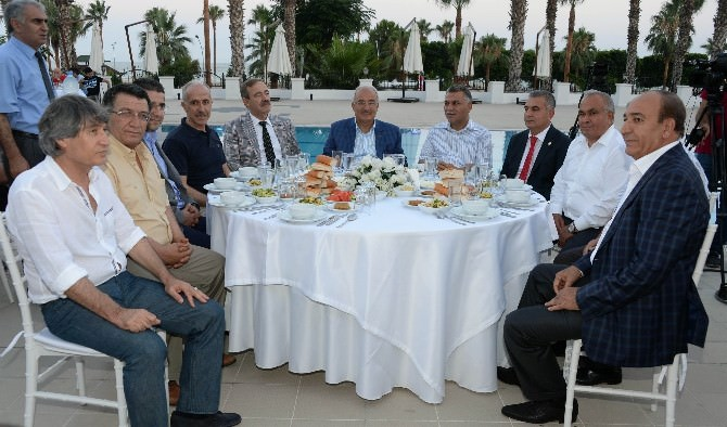 Mgc Üyeleri Kent Yöneticileriyle İftarda Buluştu