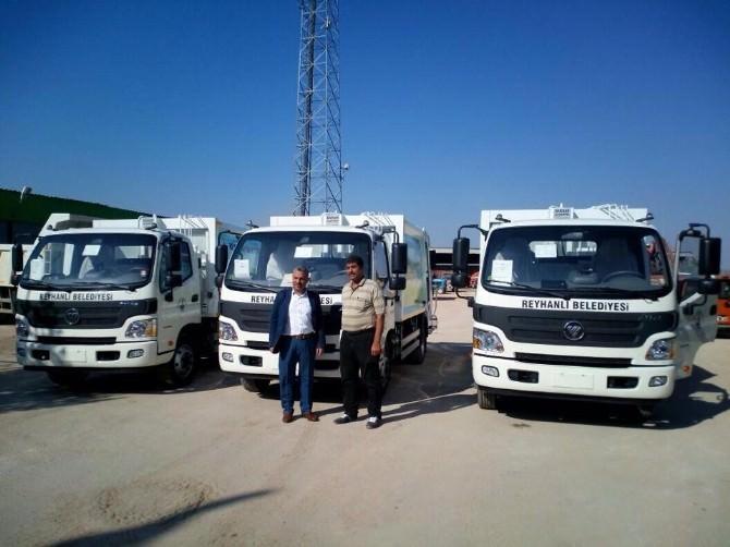 Reyhanlı Belediyesi 5 Yeni Temizlik Aracı Aldı