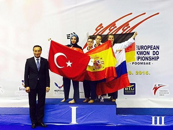 Bakan Kılıç, Milli Tekvandocuları Tebrik Etti