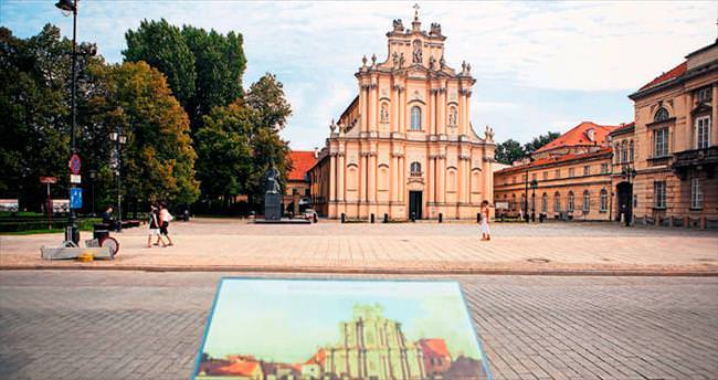 Yüzlerce yıllık dost şehir Varşova