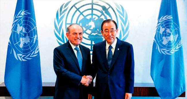 Topbaş Ban-Ki moon ile görüştü