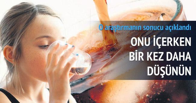 Gazlı içeceklerde siroz riski