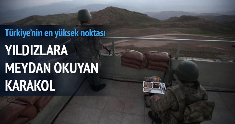 Türkiye'nin en yüksek noktası: Meydan Karakolu