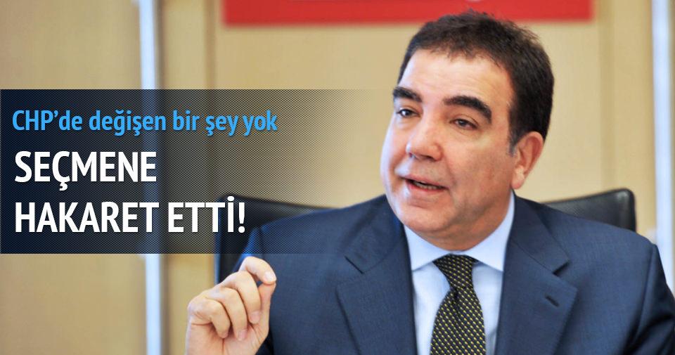 CHP'li Toprak seçmeni aşağıladı