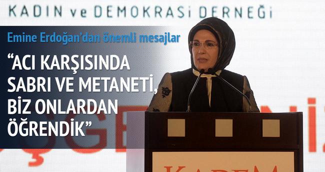 Emine Erdoğan KADEM iftarına katıldı