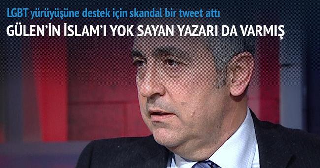 Gülen'in İslam'ı yok sayan yazarı da varmış