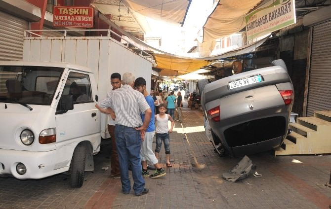 Aydın'da İlginç Kaza; 1 Yaralı