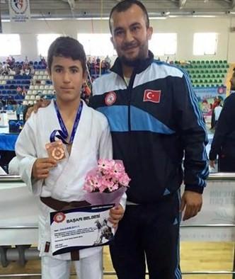 Bartınlı Enes Baran Judo'da Türkiye Üçüncüsü