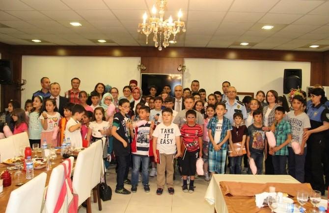 Giresun Emniyeti Çocuklarla İftarda Bir Araya Geldi