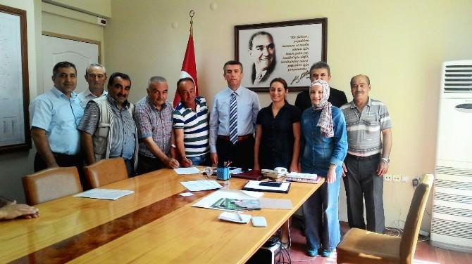 Kırkağaç'ta Organik Tarım Sözleşmesi İmzalandı