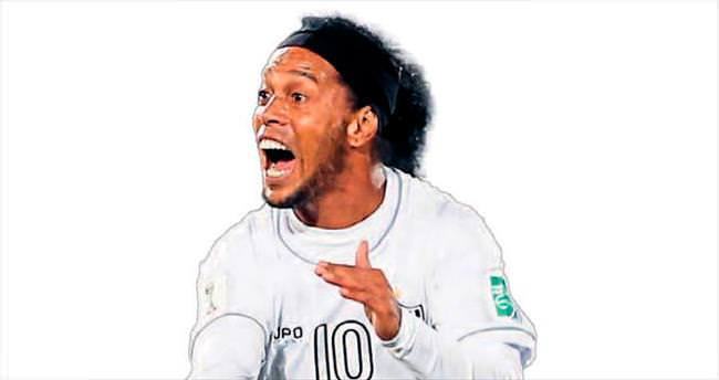 Ronaldinho ile yüzyüze