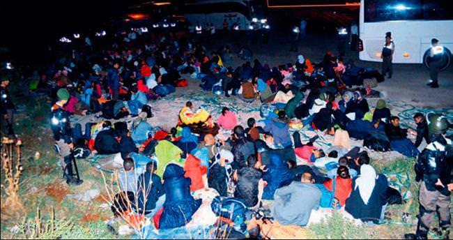 Ezidiler'in göçü Kapıkule'de bitti