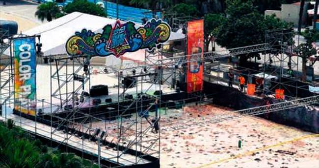 Renkli toz festivalini faciaya dönüştüren yangında 516 yaralı
