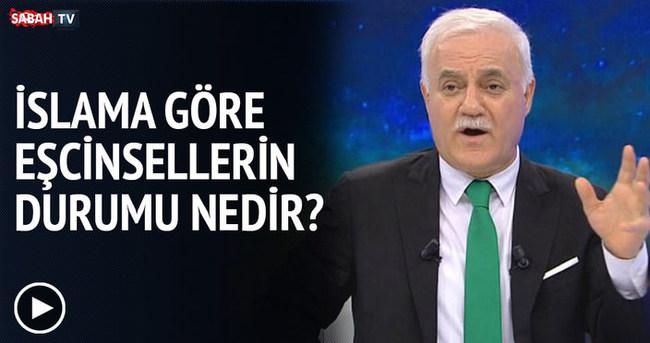 Nihat Hatipoğlu'na eşcinsellik sorusu