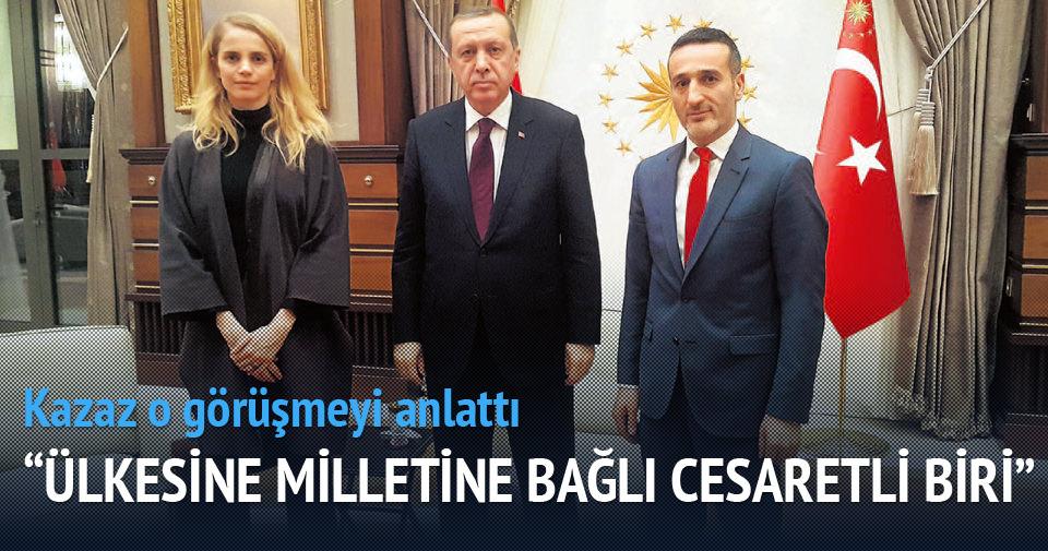 'Erdoğan'ın ülkesine hizmet etmekten başka gayesi yok'