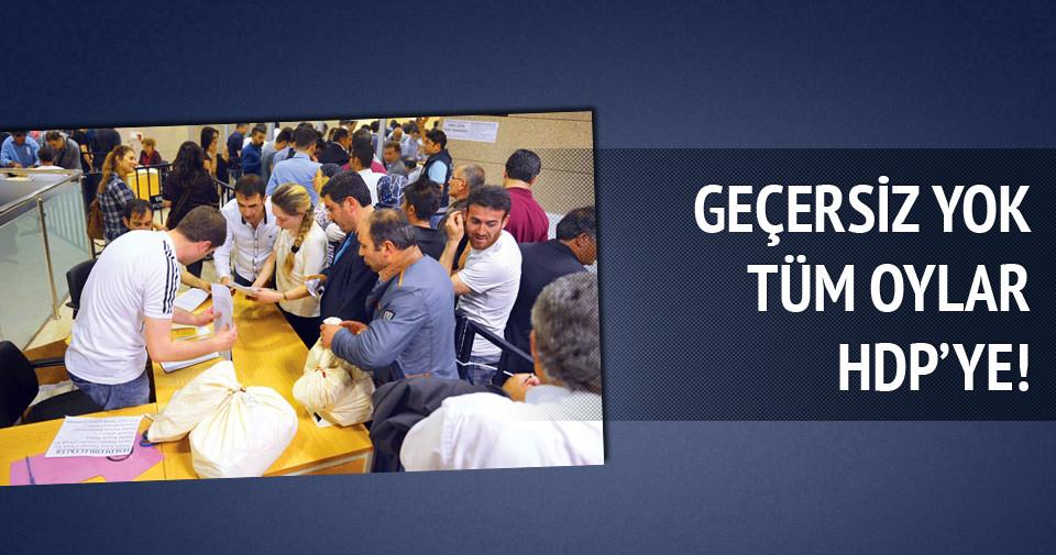 13 köyde bütün oylar HDP'ye
