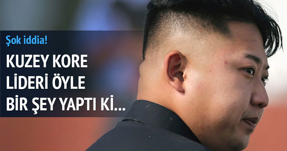 Kuzey Kore lideri için şok iddia