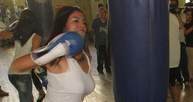 Koca şiddeti boksör yaptı