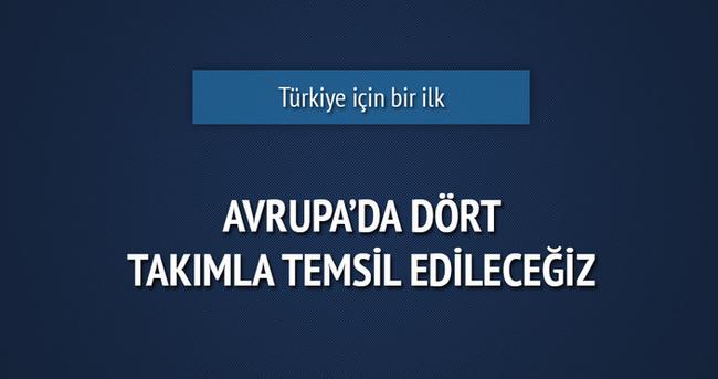 Euroleague'de 4 Türk takımı yer alacak