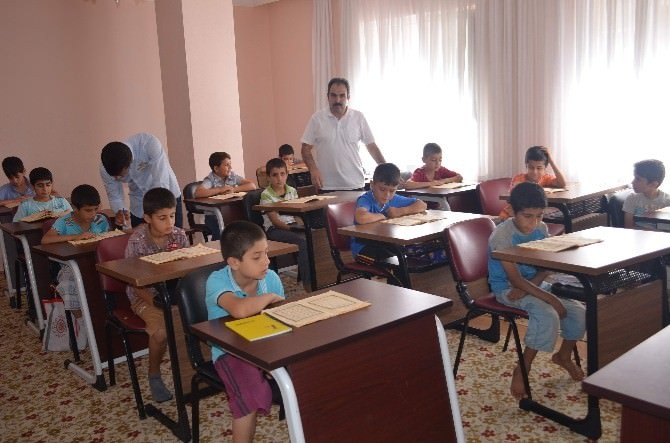 Kahta'da Yaz Kuran Kurslarına Yoğun İlgi