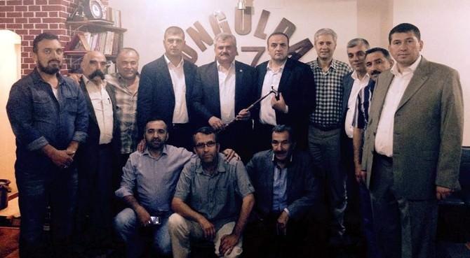 Çaturoğlu, İstanbul'daki Zonguldaklılarla Bir Araya Geldi