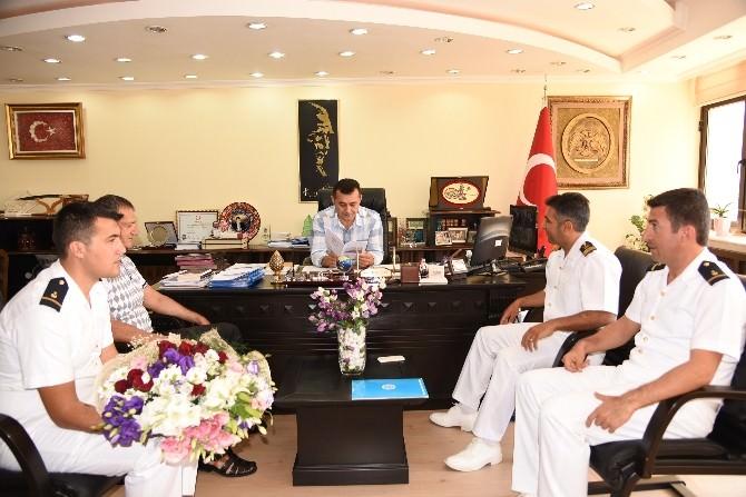 Liman Başkanı Ballıkaya'dan Başkan Yücel'e Ziyaret