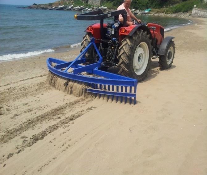 Plaj Temizliklerine Başlandı