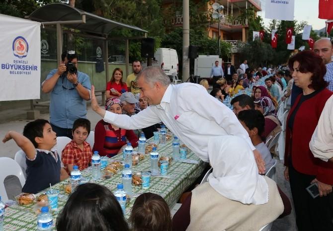 Başkan Zolan İftarda Vatandaşlarla Buluştu