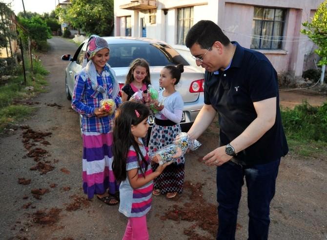 Başkan Tütüncü İhtiyaç Sahibi Aileleri Ziyaret Ediyor