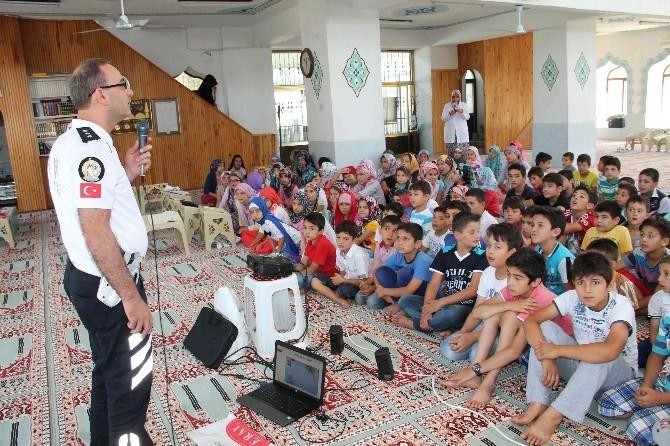 Fethiye'de Camilerde Trafik Eğitimi Başladı