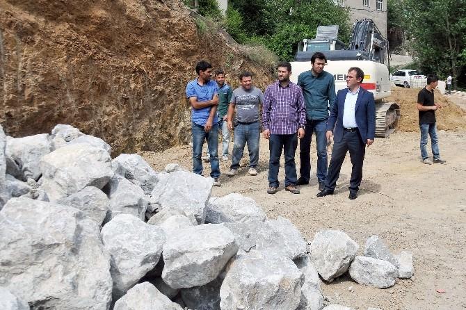 Gümüşhane Belediyesi Hasanbey Mahallesi'nde Örnek Mahalle Çalışmalarına Başladı