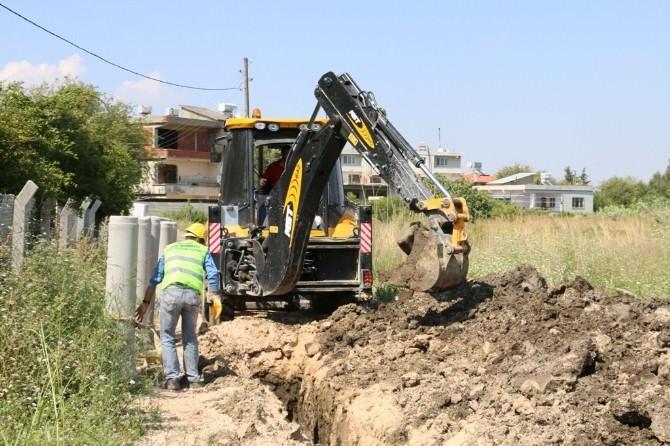 Hatsu'dan Kanalizasyon Döşeme Çalışmaları