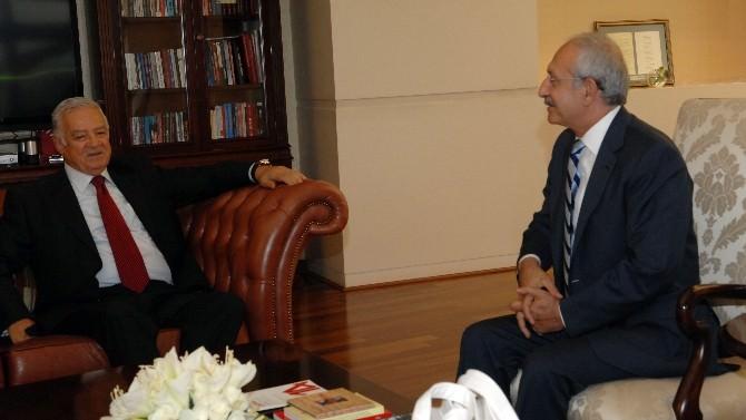 Kılıçdaroğlu, HDP'nin Meclis Başkan Adayı Fırat'ı Kabul Etti