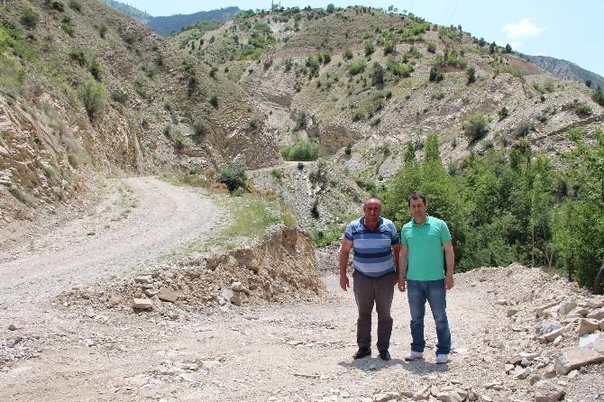 İki Köyün Hayali Olan Bağlantı Yolu Yapıldı