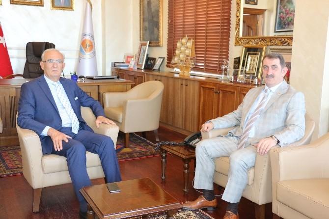 Milletvekili Köktaş'tan Vali Şahin Ve Başkan Yılmaz'a Nezaket Ziyareti