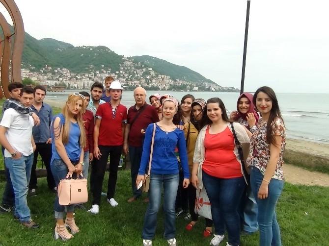 Naci Topçuoğlu Meslek Yüksekokulu'ndan Karadeniz'e Teknik Gezi