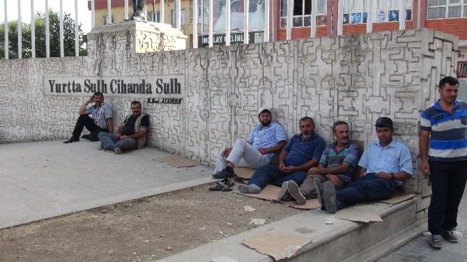 Batmanlı İşsizlerden Suriyeli Sığınmacılara Tepki