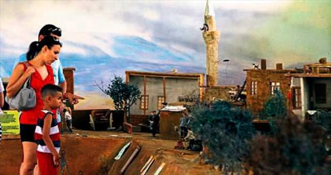 1950'li yılların köyünü kurdu