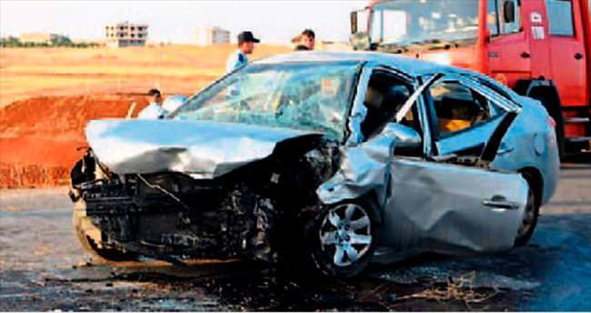 Gaziantep'te korkunç kaza