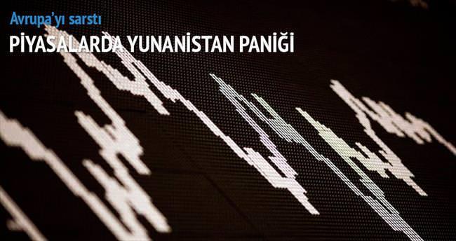 Piyasalarda Yunanistan paniği
