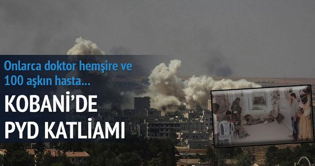 Kobani'de YPG katliamı