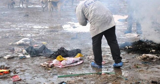 Şehir çöplüğünde bebek cesedi bulundu