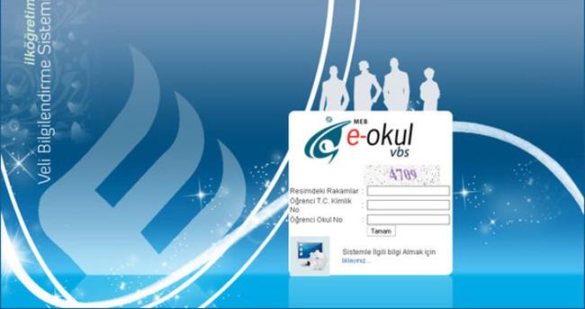 E-Okul Veli Bilgilendirme Sistemi - Karne bilgisi öğren - Sınav sonuçlarını öğren