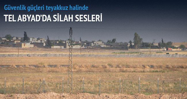 Tel Abyad'da silah sesleri