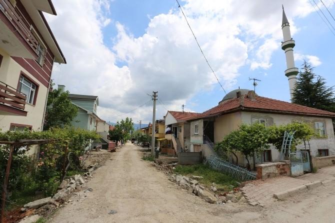 Bolu'da Yol Açma Ve Yenileme Çalışmaları Sürüyor