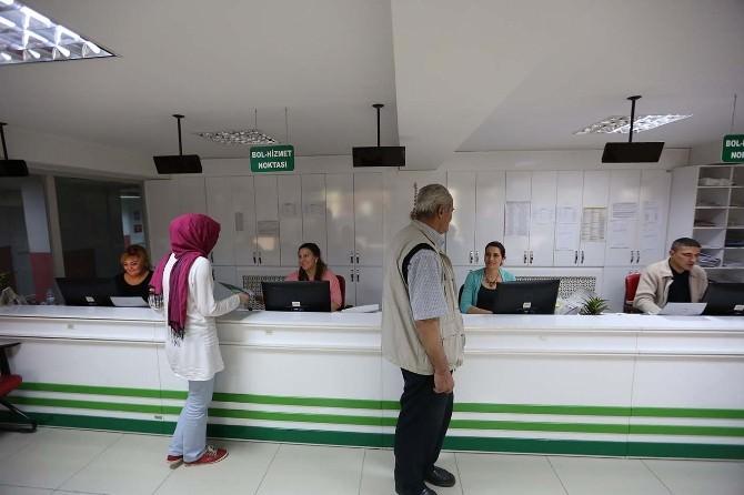 Bolu Belediyesi Bol-hizmet Noktasından Rekor Sonuçlandırma