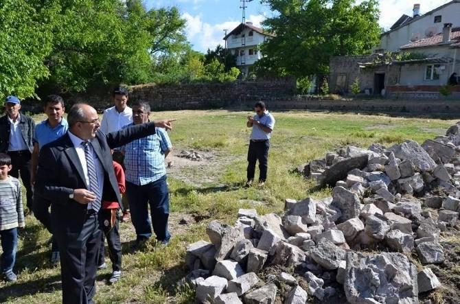 Bünyan Belediyesi Beş Mahalleye Yeni Park Yapıyor