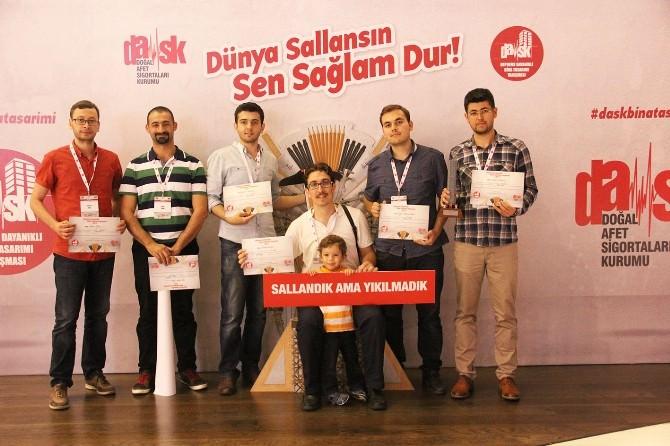 Erciyes Üniversitesi Öğrencileri Dask'tan Ödülle Döndü