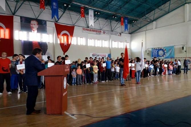 Gümüşhane'de Yaz Spor Okulları Açıldı