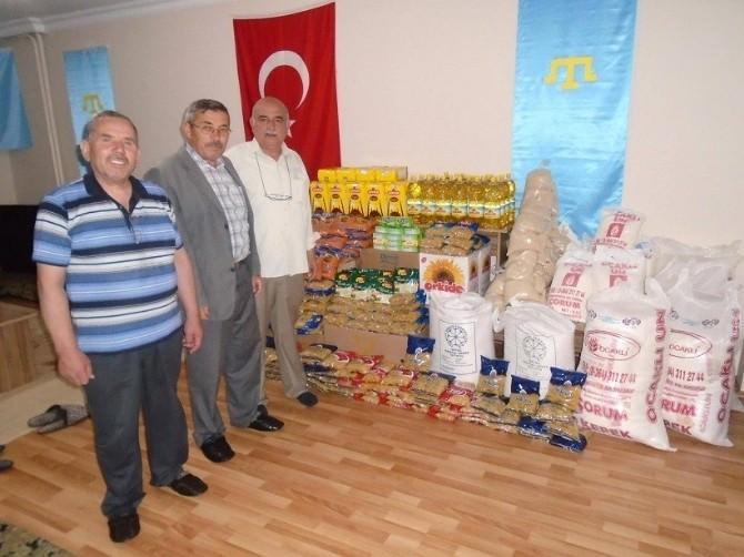 Kırım Türklerinden Ramazan Ayında Anlamlı Yardım